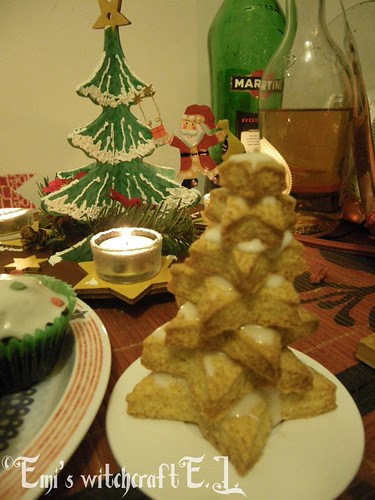 Xmas trees cookies