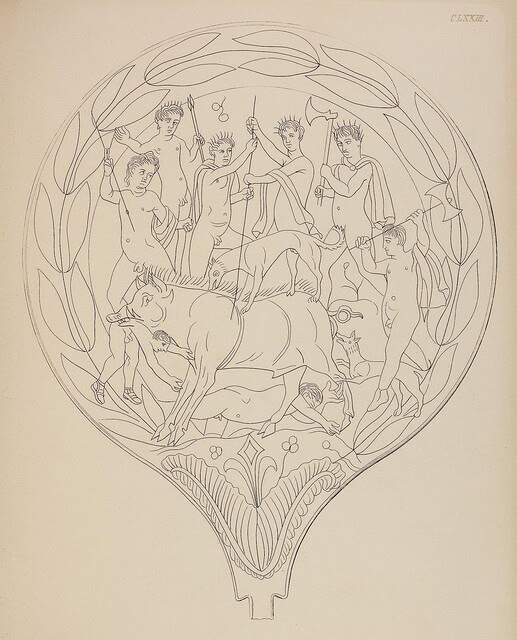 Etruskische Spiegel by Eduard Gerhard, 1840s e