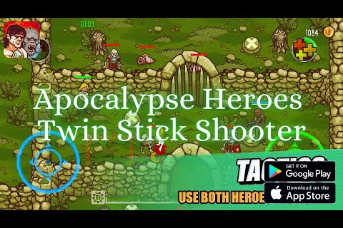 Apocalypse Heroes - Twin Stick Shooter, Gameplay, Action Mobile Game