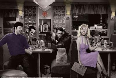 Blue Plate Special Poster Elvismarilyn Monroejames Deanbogart