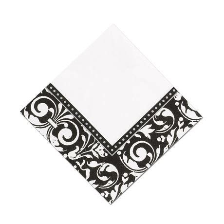 Damask Frame Cocktail Napkin   Ann's Bridal Bargains