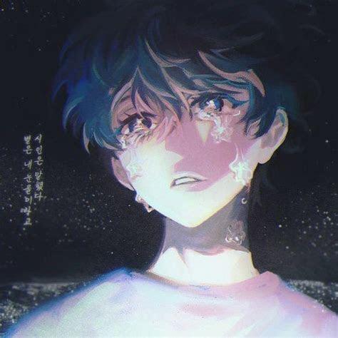 images  sad anime manga character  pinterest
