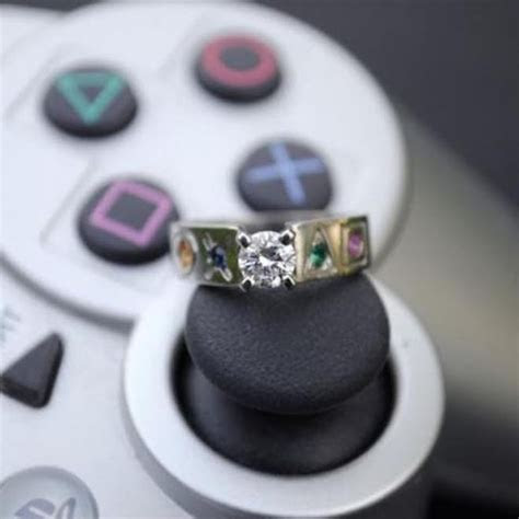 18 of the Most Geeky Wedding Rings   Linked for Life   Guff