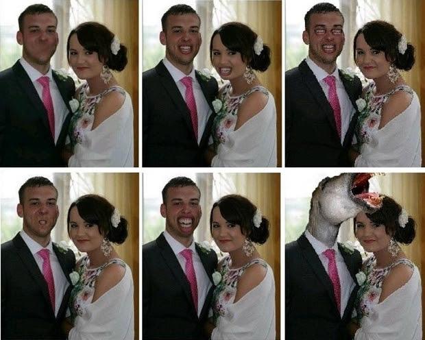 """Montagens feitas por diversos internautas que """"ajudaram"""" com Photoshop (Foto: Reprodução)"""