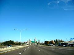 from Mobile, Alabama to Pensacola, Floride, USA
