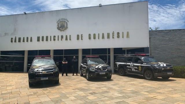 Polícia investiga fraude em licitação na Câmara de Goianésia