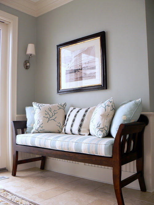 9 Ways To Decorate With A Bench