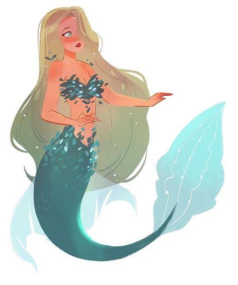 mermaid doodle   long day  work  haven