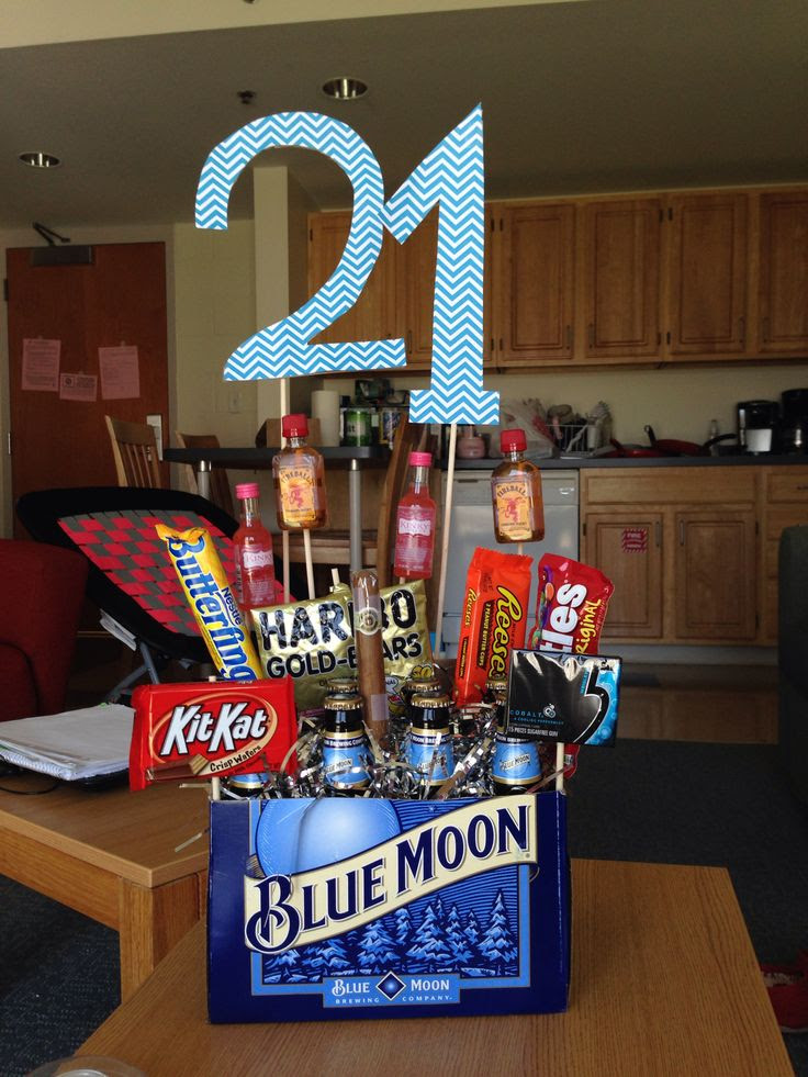 Boyfriend's 21st birthday gift