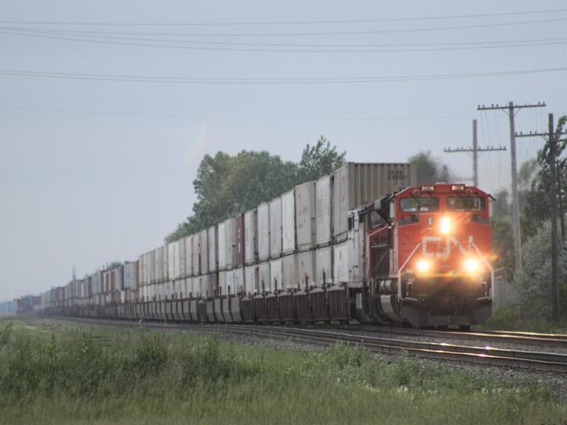 CN 8956 in Winnipeg