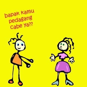 dp bbm bergerak kartun lucu