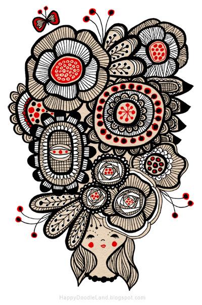 New Art: Flower Girl