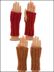 Two-Way Fingerless Gloves Knit Pattern - Electronic Download
