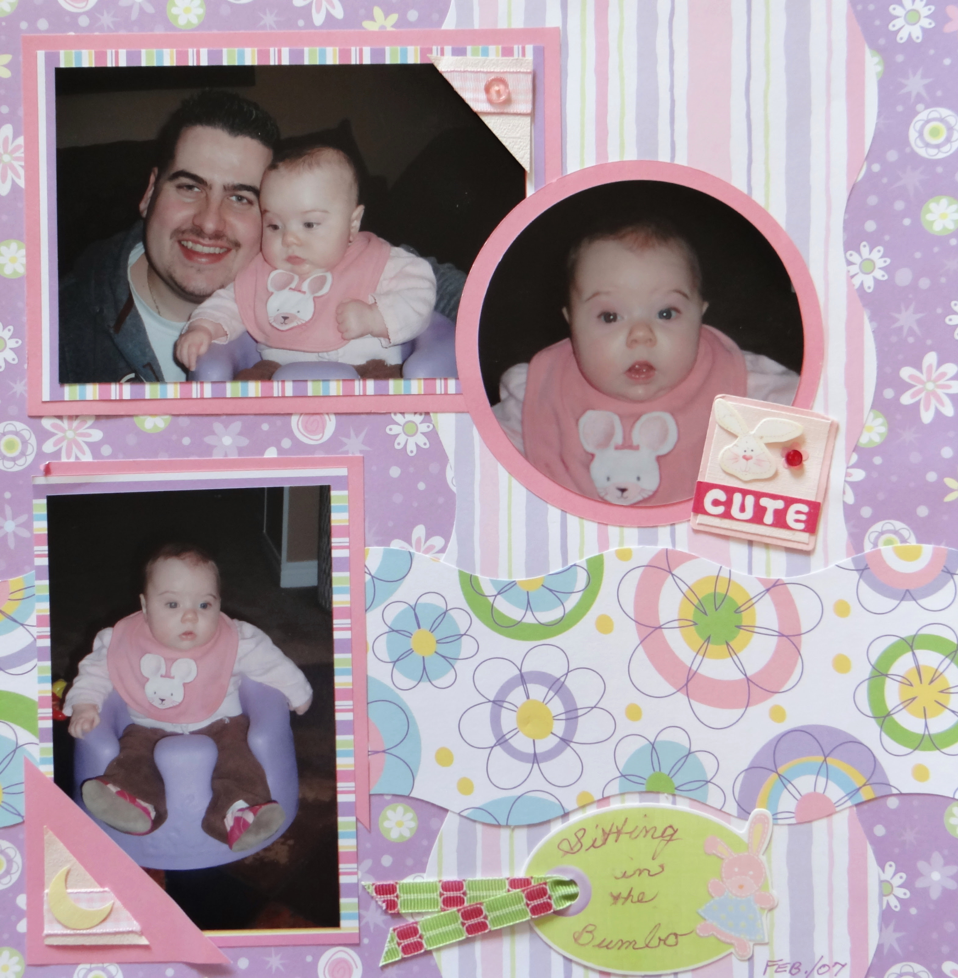 Baby Girl Scrapbook Album 2 Me And My Cricut