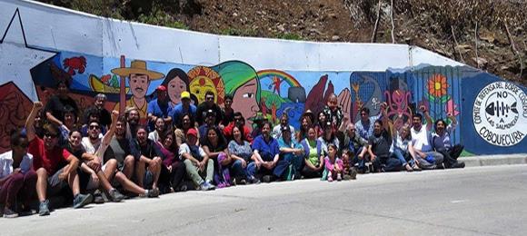 Murales Participativos Dibujan Caminos Territoriales Contra El