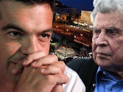 Ο Μίκης καταγγέλλει τον ΣΥΡΙΖΑ
