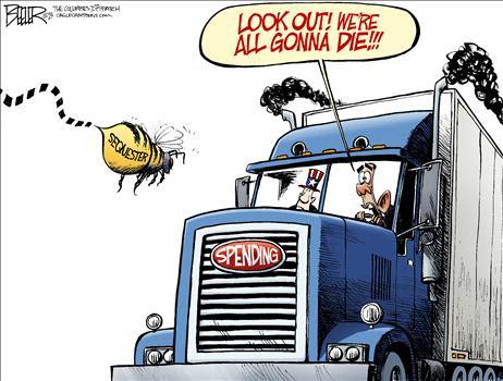 sequester Cartoon Beeler