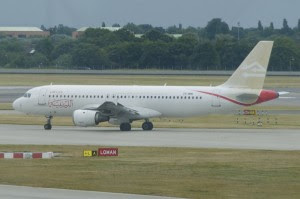 Libyan Airlines (Nouvelair Tunisie) Airbus A320-212; damaged at Tripoli airport on July 14, 2014. Photo:  Aero Icarus