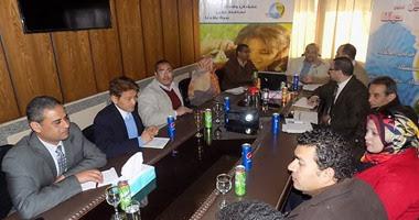 المهندس محمد صلاح رئيس شركة مياه الشرب والصرف الصحى بأسيوط