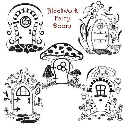 Fairy Doors - StitchSoup