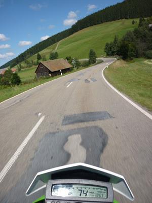 Motorradfahren im Schwarzwald