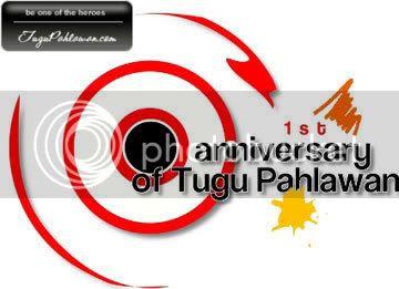 1st anniversary Tugu Pahlawan