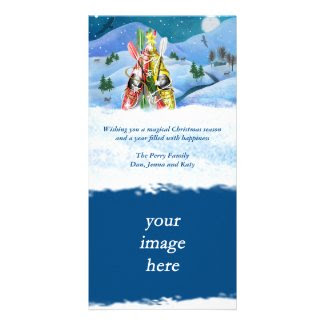 Kayak Christmas Tree - Wonders of Nature Card