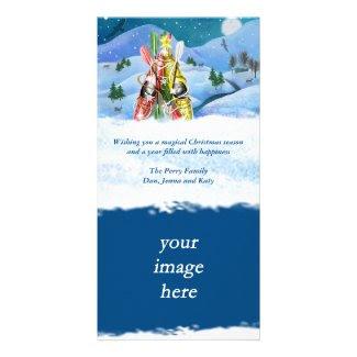 Kayak Christmas Tree - Wonders of Nature Card