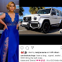 Actress, Caroline Hutchings becomes the proud owner of a Mercedes G63