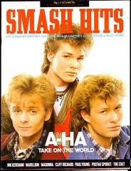 Smash Hits Magazine - a-ha