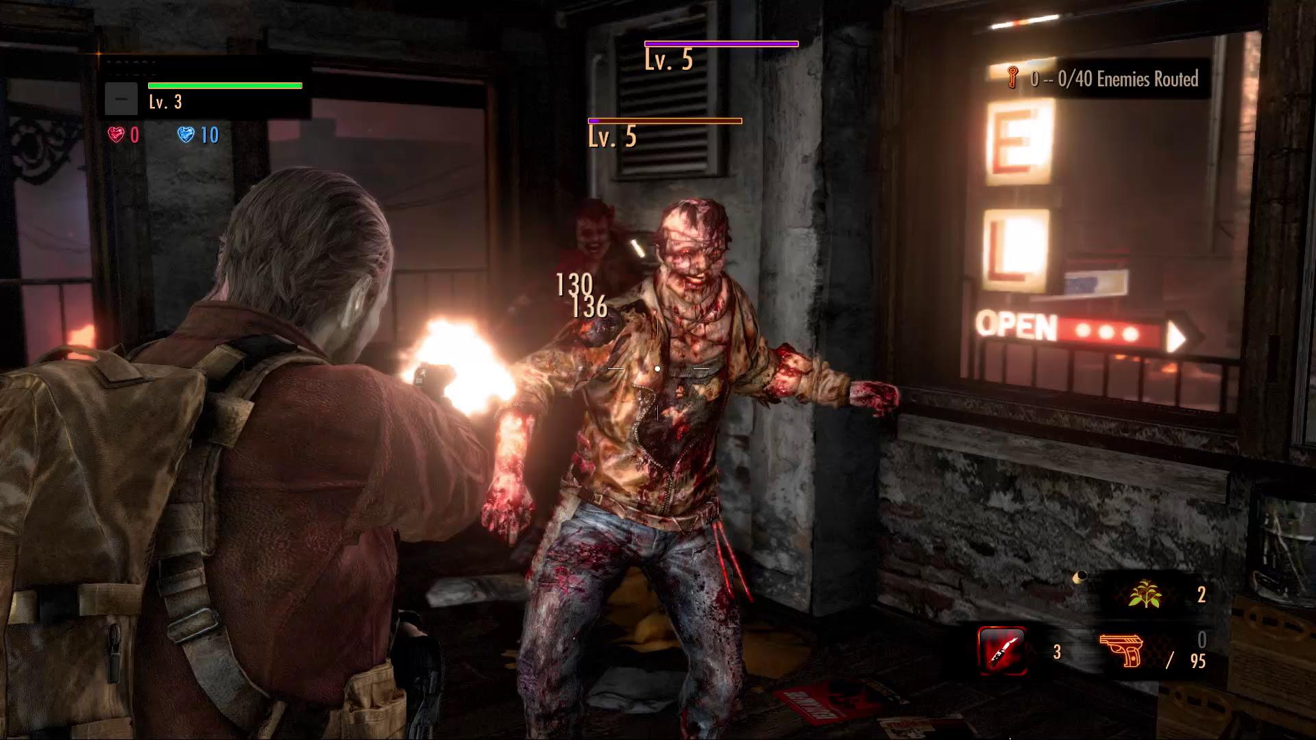 Resident Evil Revelations 2 Raid Mode Dance Gestures Are Deadly