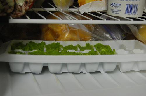Peas Puree Cold