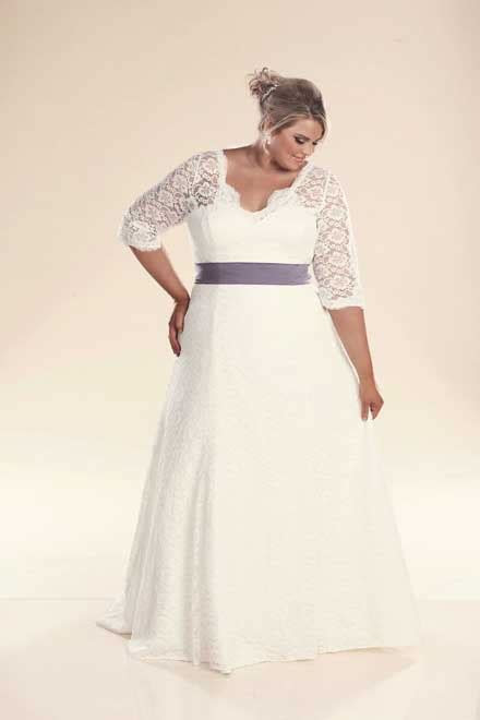 Long sleeve wedding dresses   Plus size wedding dresses