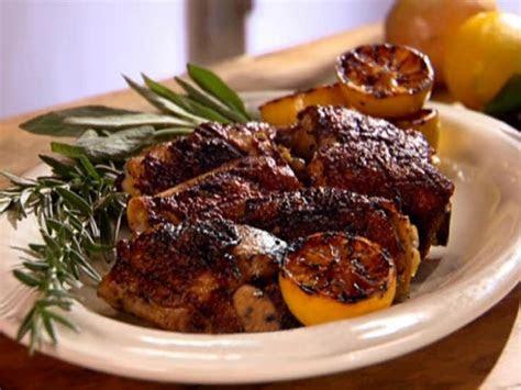 lemon  herb marinated grilled chicken thighs anne