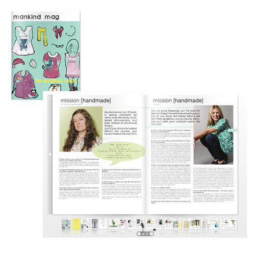 Out Now issue #5 Design For Mankind the Handmade Issue!
