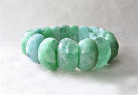 Sea Green Gemstone Bracelet