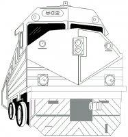 Treni Da Colorare Disegni Da Colorare Di Treno