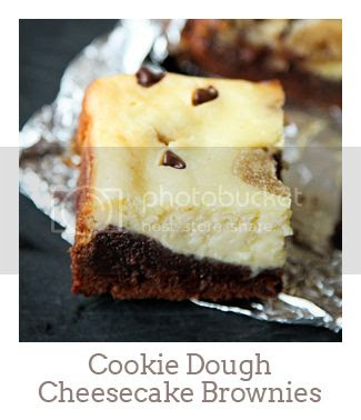 """Cookie Dough Cheesecake Brownies"""