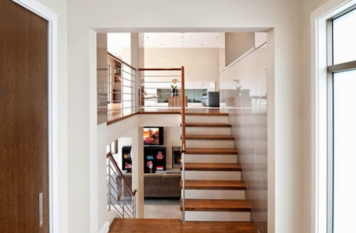 321+ Ide Desain Tangga Rumah 2 Lantai Paling Hist
