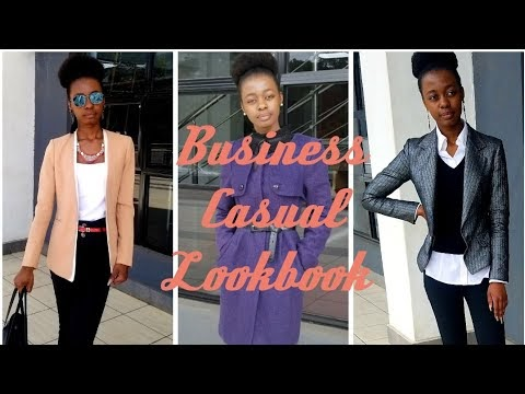Business Casual Lookbook: Dressing For Work Doesn't Have To Be Hard