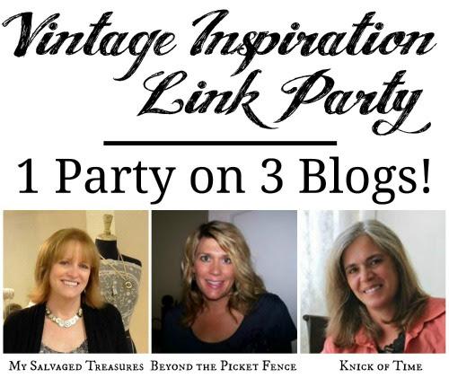 Vintage Inspiration Link Party