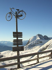 Bikestop  - view to Ifinger