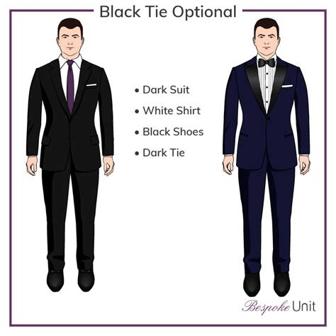 black tie optional        wear