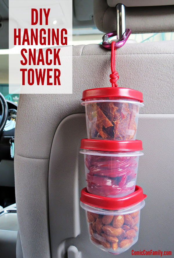 Hanging Snack Tower by Comic Con Family