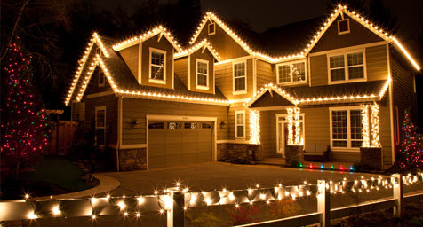 outdoor christmas lights ideas for the roof - Christmas Lights Ideas Outside
