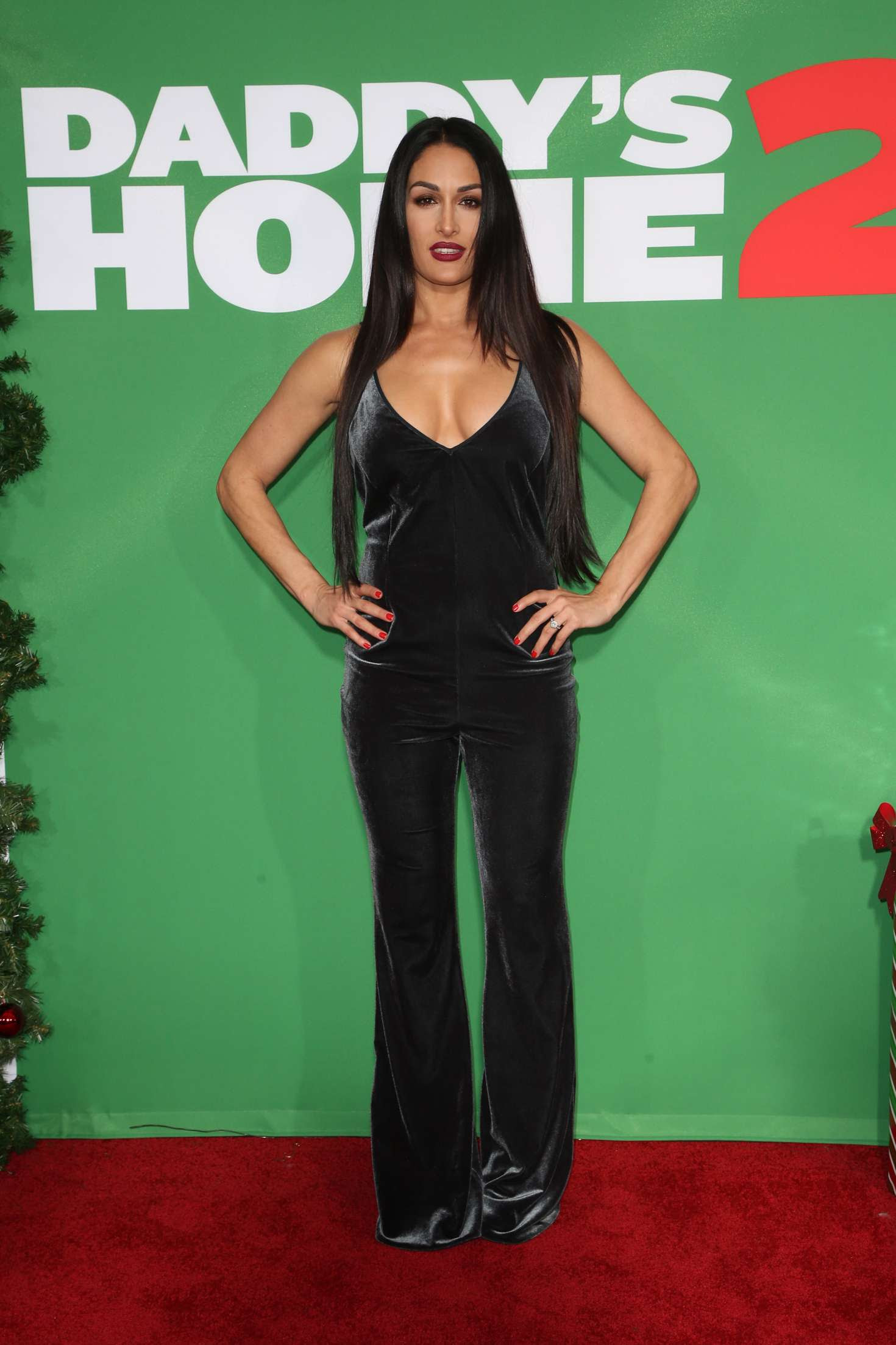 Nikki Bella – 'Daddy's Home 2' Premiere in Los Angeles
