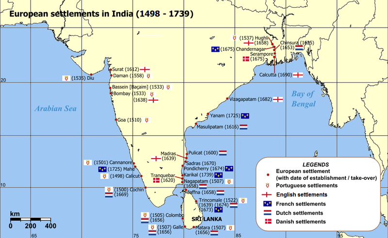 File:European settlements in India 1501-1739.png