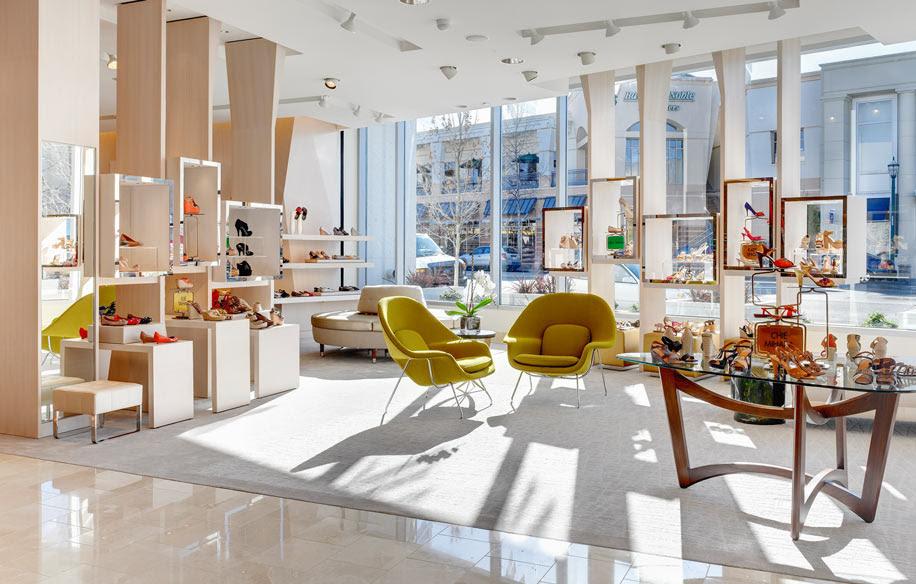 Neiman Marcus Broadway Plaza Walnut Creek Retail Design Charles