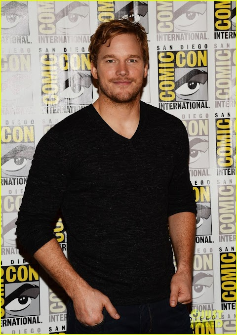 Chris Pratt Comic Con 2015