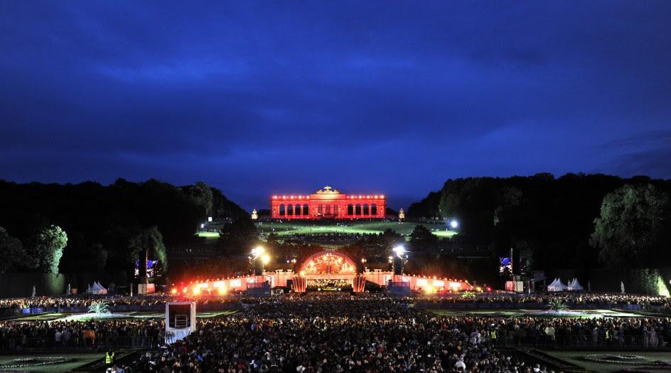 Concierto de noche de verano en Viena